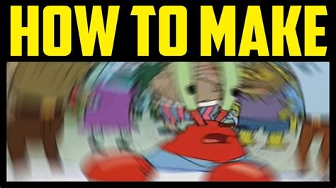 How To Make A Meme How To Make Mr Krabs Meme Blur In Photoshop 2017