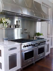 Kitchen Stainless Steel Backsplash Stainless Steel Backsplash Design Ideas