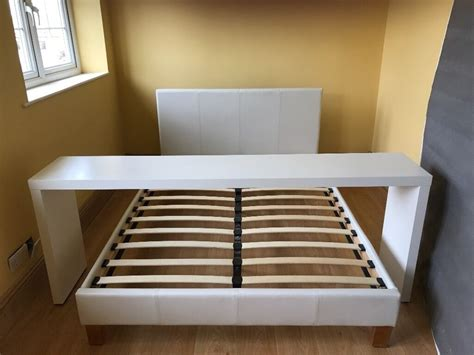 Bett Tisch Ikea ikea malm white bed bed table in