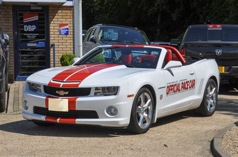chevrolet camaro pace car convertible indy  limited