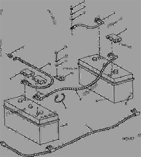Deere 4230 Wiring Harnes by Deere 4430 Battery Wiring Diagram For A Tractor