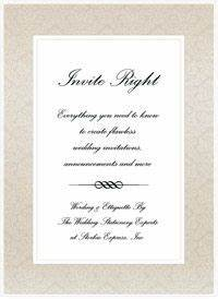 wedding invitations wording announcements etiquette With wedding invitations vs announcements