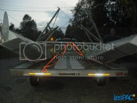 For Sale: EDO 1650 Floats with Trailer and Wing Cover set