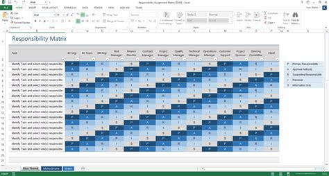 operations guide template ms word excel templates