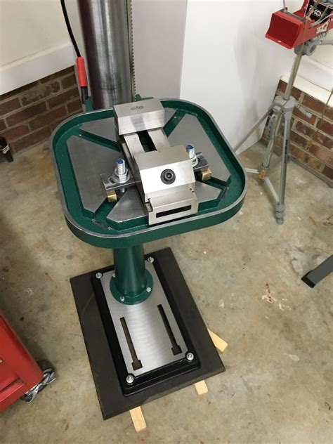 speed heavy duty  floor drill press grizzly industrial