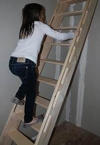 Echelle Pour Escalier : l chelle de meunier reste id ale pour acc der une ~ Melissatoandfro.com Idées de Décoration