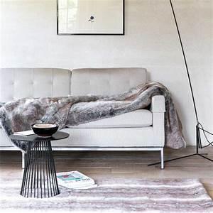 tapis haut de gamme fausse fourrure par ligne pure With tapis kilim avec canapé haut de gamme italien