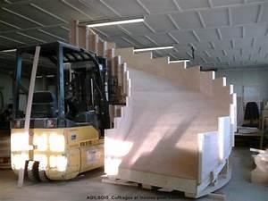 Comment Faire Du Beton : coffrage pour escalier beton coffrage bois ~ Melissatoandfro.com Idées de Décoration