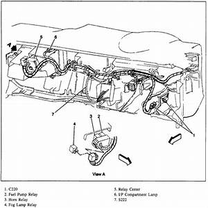 where is the relay located for the fog lamps on a 1997 With 1997 oldsmobile bravada inside dash fuse box diagram