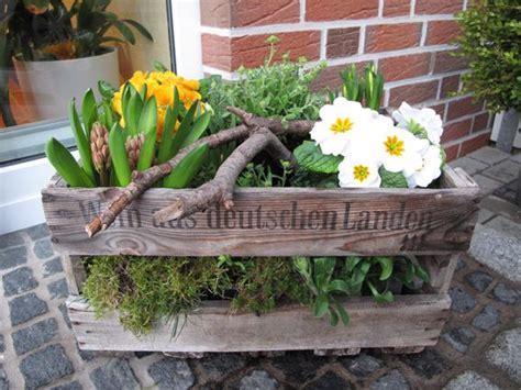 Weinkisten Garten by Bepflanzte Weinkiste Weinkiste Garten Terrasse Garten