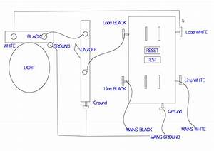 How To Wire A Gfci Outlet Diagram  U2013 Volovets Info