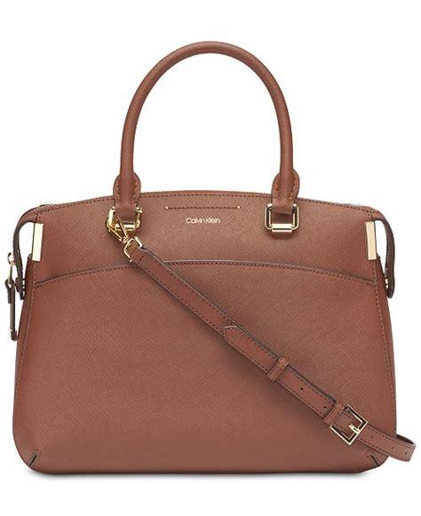 Klein Smart Satchel calvin klein raelynn saffiano leather satchel reviews