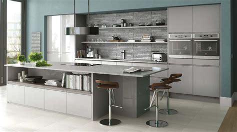 grey gloss kitchen cabinets gloss kitchen in grey gloss handleless kitchen shown in 4064