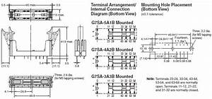 G7sa Relays With Forcibly Guided Contacts  Dimensions