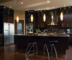 modern kitchen cabinets in espresso finish kitchen craft With what kind of paint to use on kitchen cabinets for where to buy large wall art