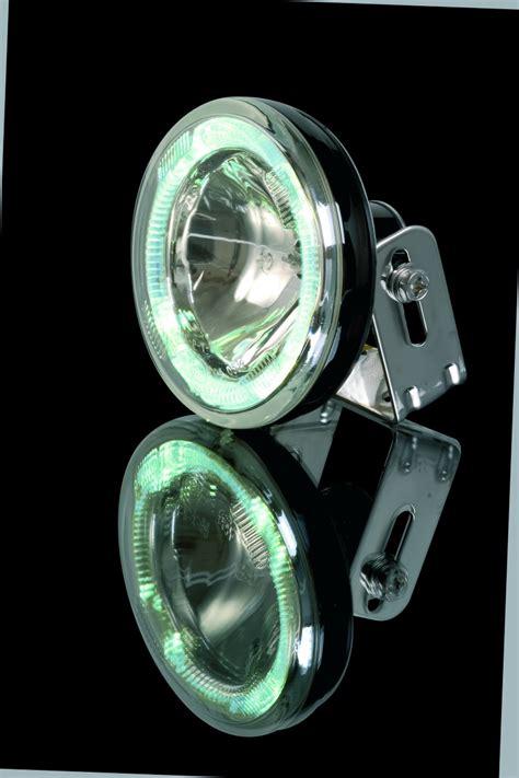 led zusatzscheinwerfer motorrad e geprüft fernscheinwerfer rund mit led standlichtring beleuchtung scheinwerfer scheinwerfer