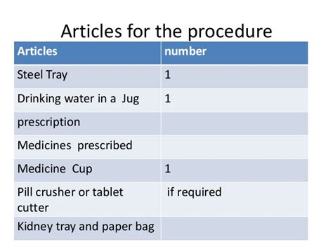 Enduro Paper Tray Pp T administration of medications