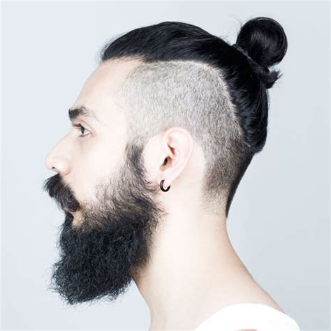 mens top knot hairstyles mens hairstyles haircuts
