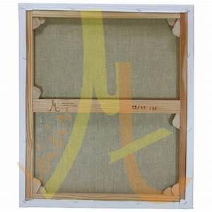 Toile Blanche A Peindre : ch ssis entoil toile blanche peindre polyester fin ~ Premium-room.com Idées de Décoration