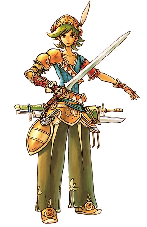 Characterconcepts Roget From Heroes Of Mana Character