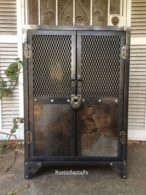 industrial liquor cabinet buy a crafted industrial steel locking liquor cabinet