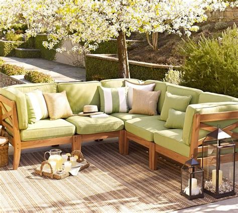 build your own hstead teak sectional components
