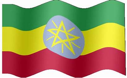 Flag Ethiopia Animated Flags Africa Eritrea Ethiopian