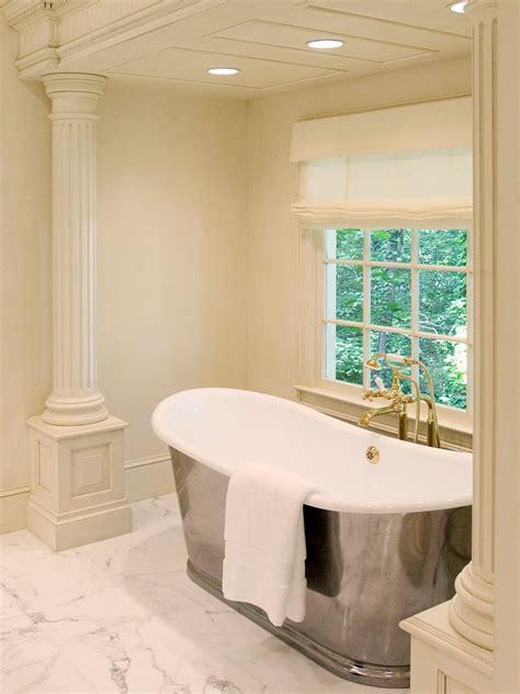elegant neutral bathroom hgtv