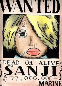 Sanji Wanted Poster New World | www.imgkid.com - The Image ...