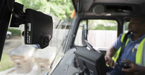 garbage truck cameras serve  mobile surveillance systems