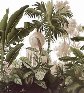 Papier Peint Ananbo : papier peint panoramique ananb murales pinterest murales papel pintado y plantas ~ Melissatoandfro.com Idées de Décoration
