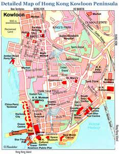 Street Map Kowloon Hong Kong
