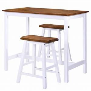 Bartisch Mit Barhocker : bartisch set mit barhocker holz 3 tlg 5 tlg stehtisch tresentisch barstuhl ebay ~ Yasmunasinghe.com Haus und Dekorationen