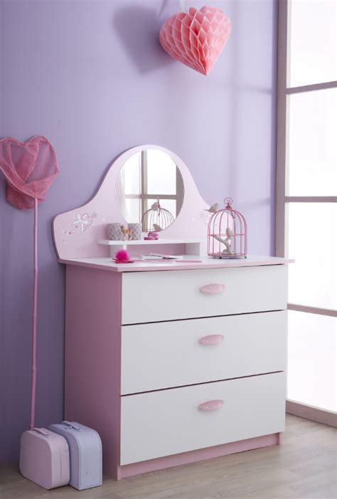 commode chambre fille commode fille butterfly secret de chambre
