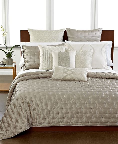 Hotel Collection Coverlet King by Hotel Collection Finest Luster Silk Cotton King Quilted