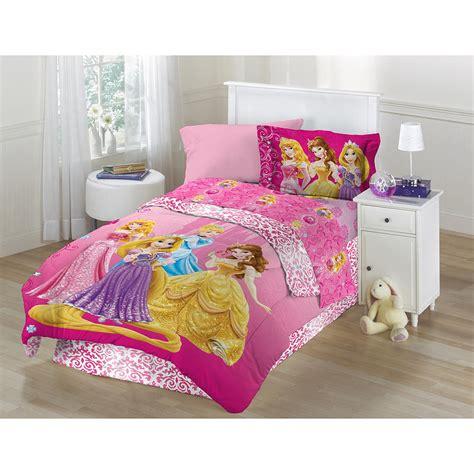 disney s princess shine bedding set for girls bedroom