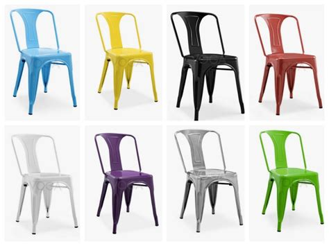 chaise tolix pas cher 20 chaises design à moins de 100 euros déco clem around the corner