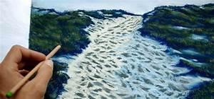 Peindre Au Pastel : technique pour peindre un paysage de bord de mer au pastel et crayon pastel ~ Melissatoandfro.com Idées de Décoration