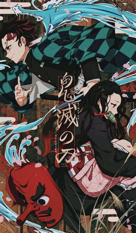 demon slayer kimetsu  yaiba uhd wallpapers wallpaper cave