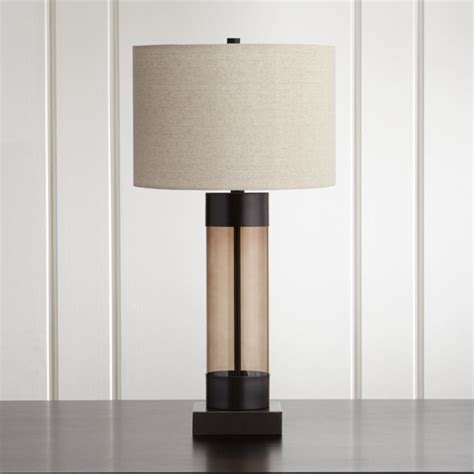 Avenue Bronze Table Lamp with USB Port + Reviews | Crate