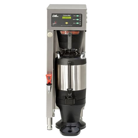 If these machines stop working, business can come to a grinding halt. Curtis TP15S63A1100 ThermoPro Single 1.5 Gallon Coffee Brewer - 120/220V
