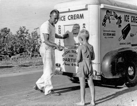 nostalgic memories  ice cream man