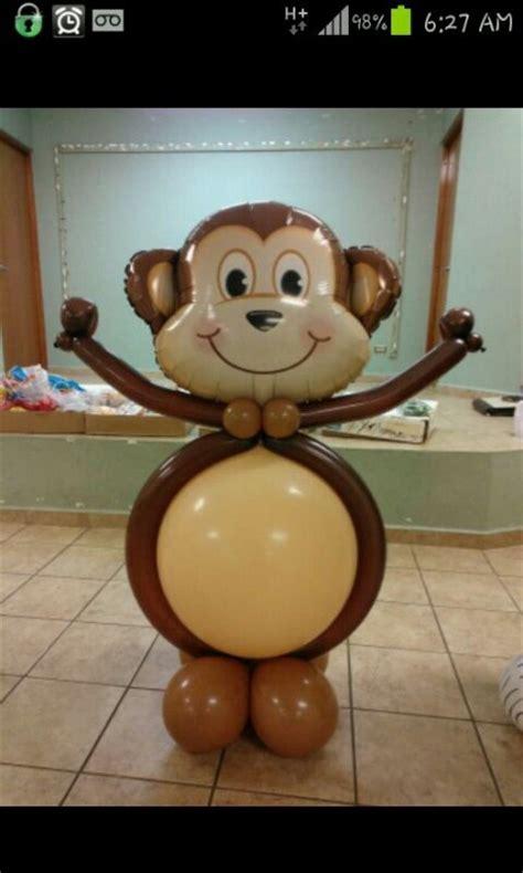 balloon monkey monkey balloon decorations pinterest