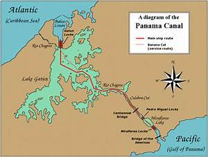 Sailing Through The Panama Canal