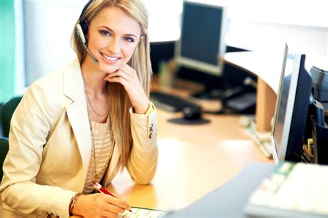 Front Desk Receptionist by Professional Development Receptionist Well