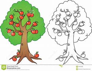 Black And White Apple Tree Clipart – 101 Clip Art