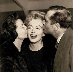 Marilyn with Vivien Leigh and Laurence Olivier - Marilyn ...