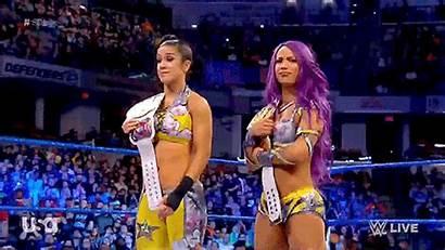 Bayley Sasha Banks Wwe Raw Boss Hug