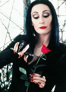 Anjelica Huston - Morticia Addams | Movies and Shows ...