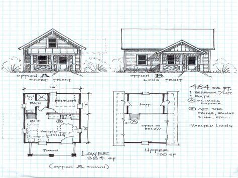 cabin floor plans loft small cabin floor plans loft cottage house plans 15877